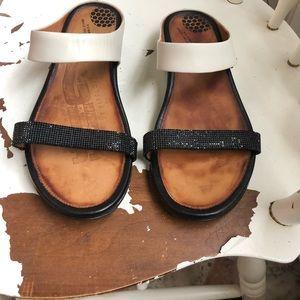 Fitflop FF2 Banda leather  Slide  EU39 (7-7.5)